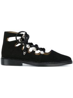 ботинки высотой до щиколотки со шнуровкой Toga Pulla