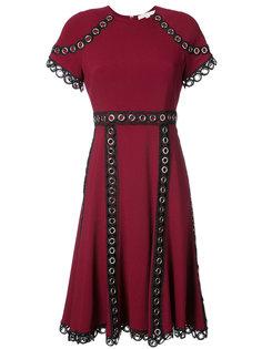 eyelet embellished short sleeved dress Jonathan Simkhai