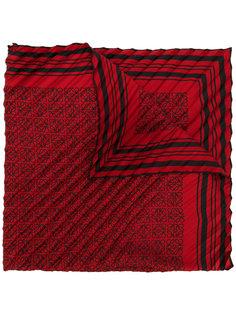 плиссированный шарф с рисунком Anagram Loewe