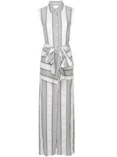 платье макси в полоску  Tome