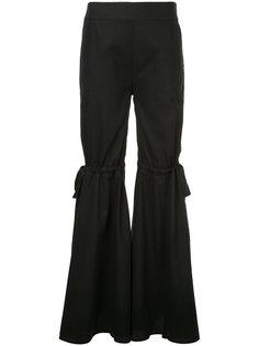 расклешенные брюки с бантами Teija