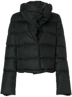 дутая куртка с высоким воротником  Givenchy
