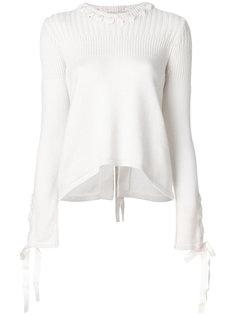 классический трикотажный свитер Fendi