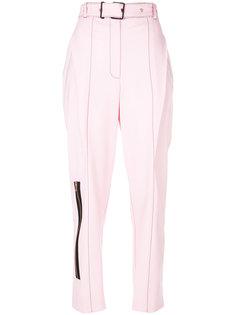 строгие брюки с молнией  Proenza Schouler