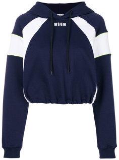свитер дизайна колор-блок MSGM