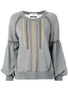 свитер с вышивкой  Muveil