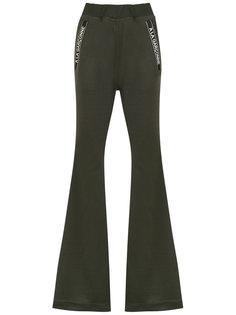flared trousers À La Garçonne