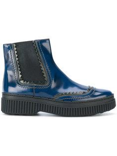 ботинки-челси на флатформе Tods Tod`S