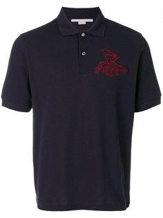 футболка-поло с вышивкой Stella McCartney