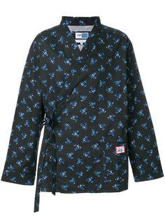 пижасная рубашка с цветочным принтом Kenzo