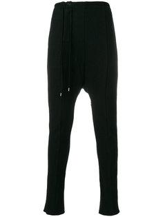 брюки с заниженной проймой The Viridi-Anne