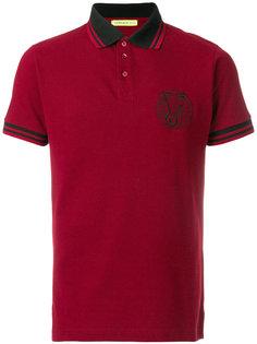 футболка-поло с вышитым логотипом Versace Jeans