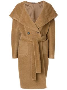 пальто с поясом  Tagliatore