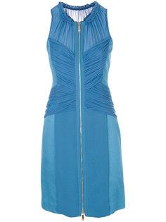 платье мини со сборкой  Versace