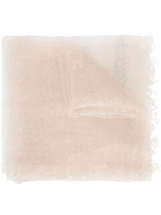 прозрачный шарф Faliero Sarti