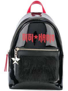 рюкзак с меховой заплаткой GiGi Tommy Hilfiger
