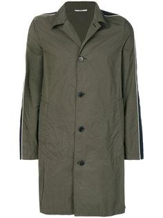 однобортное пальто Valentino