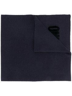 шарф с вышивкой Moschino