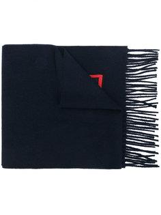 шарф с аппликацией Fendi