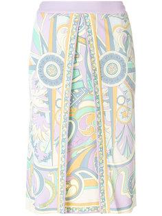 юбка с принтом Emilio Pucci