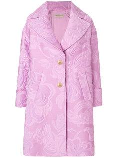 пальто с жаккардовым узором Emilio Pucci