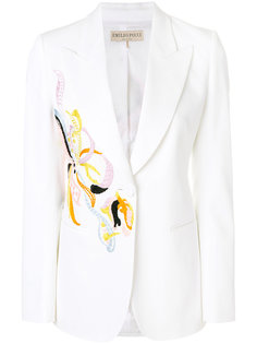 пиджак с вышивкой Emilio Pucci