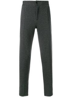 брюки прямого кроя Paolo Pecora