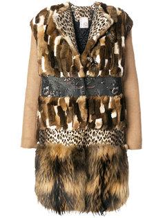 пальто с панельным дизайном Antonio Marras