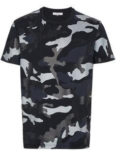 камуфляжная футболка с круглым вырезом Valentino
