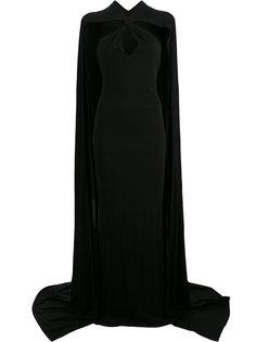 удлиненное платье-кейп Dsquared2