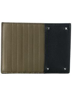 кошелек для монет дизайна колор-блок Valentino