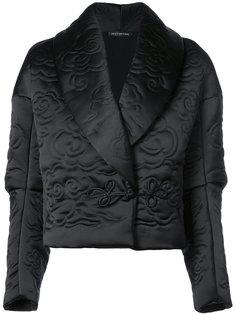 укороченная куртка с лацканами-шалькой Natori