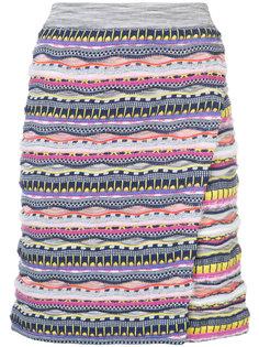 юбка с завышенной талией  Carven