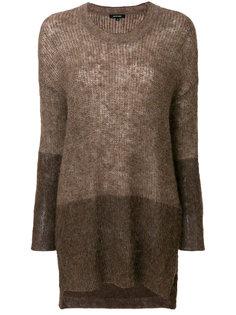 двухцветный свитер Pas De  Calais