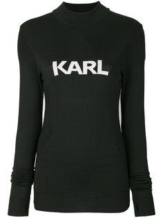 приталенный свитер Ikonik Karl Karl Lagerfeld
