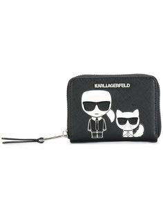 маленький кошелек Ikonik на молнии Karl Lagerfeld