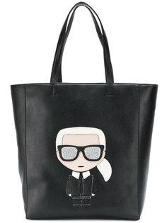 сумка-тоут Iknoik Karl Lagerfeld