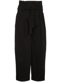 high-waisted belted trousers Alberta Ferretti