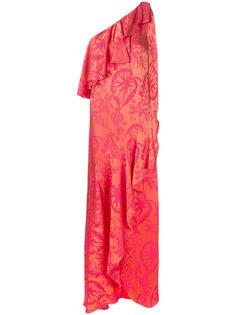 платье с рюшами Orbit Temperley London