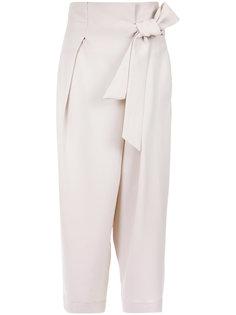 tie fastening trousers Giuliana Romanno