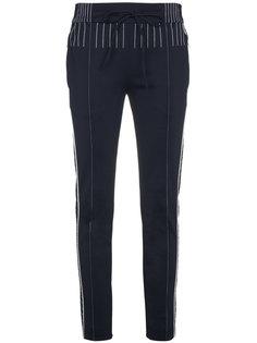 спортивные брюки с контрастной строчкой Valentino