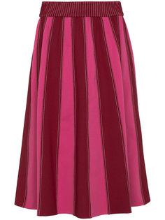 юбка миди А-силуэта  Valentino