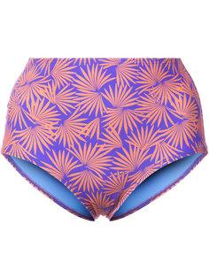 плавки бикини с тропическим принтом  Dvf Diane Von Furstenberg