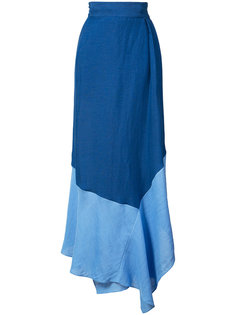юбка колор-блок  Dvf Diane Von Furstenberg