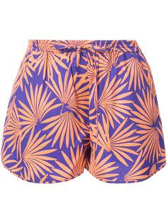 шорты с тропическим принтом  Dvf Diane Von Furstenberg