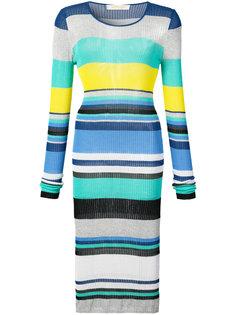 платье колор-блок  Dvf Diane Von Furstenberg