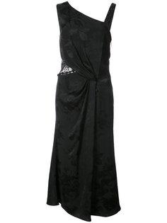 кружевное платье с вышивкой  Prabal Gurung