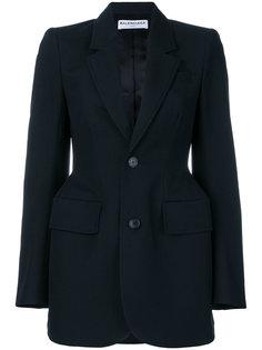 приталенный пиджак Balenciaga