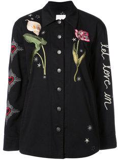 куртка с цветочным принтом Canyen  Cinq A Sept
