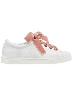 кроссовки со шнуровкой Fendi